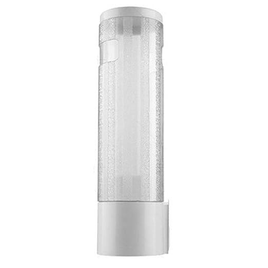 Dispensador de taza de agua, soporte para taza de pared Tubo de taza para sacar recipientes para taza Dispensador de taza para bebida pequeño, ...