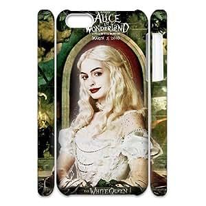 D-PAFD Diy 3D Case Alice in Wonderland for iPhone 5C