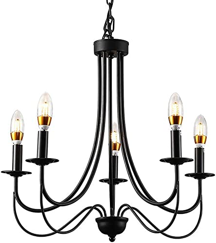 TFCFL 5-Lights Candle Chandelier