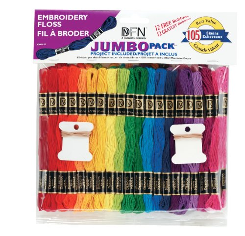 Janlynn Jumbo Pack 105 Skein Embroidery Floss from Janlynn Corp.