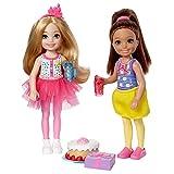 Barbie Club Slumber Party Chelsea Dolls & Accessories (2 Pack)