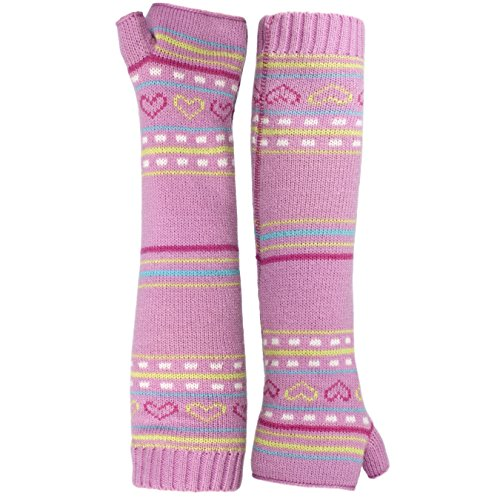 Trespass Childrens Girls Dione Knitted Arm Warmers (5/7 Years) ()