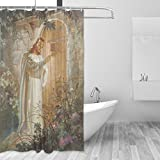 Donnapink Christian Jesus Christ God Waterproof 60''X72'' Shower Curtain Polyester Fabric Bathroom Bath Sets