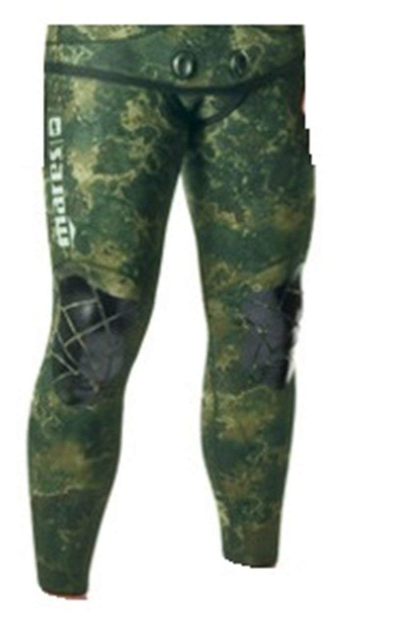 Mares Pure Instinct 5mm Pants, Green Camo, S2 Small