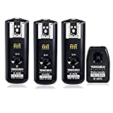 Yongnuo RF-602 N 2.4GHz 100M Wireless Remote Flash Transmitter + 3 Receivers for Nikon D7200 D7100 D7000 D3300 D3200 D3000 D5000 D5100 D5200 D5300 D500 D700 D810 D60 D50,et.