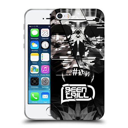 Official Been Trill Mouth Grill Skull 2 3D Scans Soft Gel Case for Apple iPhone 5 / 5s / SE