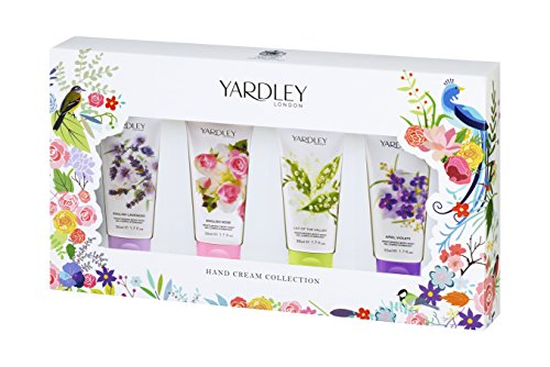 Yardley Of London Hand Cream Collection 4 Piece Gift Set for