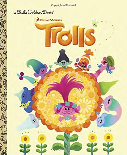 Price comparison product image Trolls Little Golden Book (DreamWorks Trolls)