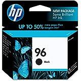 HP 96 Black Original Genuine Ink Cartridge (C8767WN#140) 860 Pages