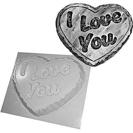 dennycraftmoulds.co.uk I LOVE YOU CONCRETE MOULD LARGE HEART 51 2B1 FdKeQL