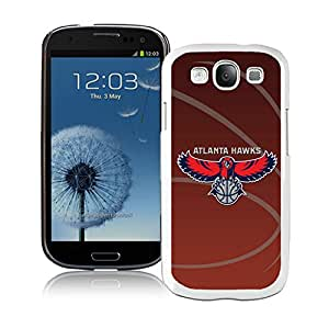 Fashionable Antiskid Cover Case For Samsung Galaxy S3 I9300 With Atlanta Hawks 11 White Phone Case