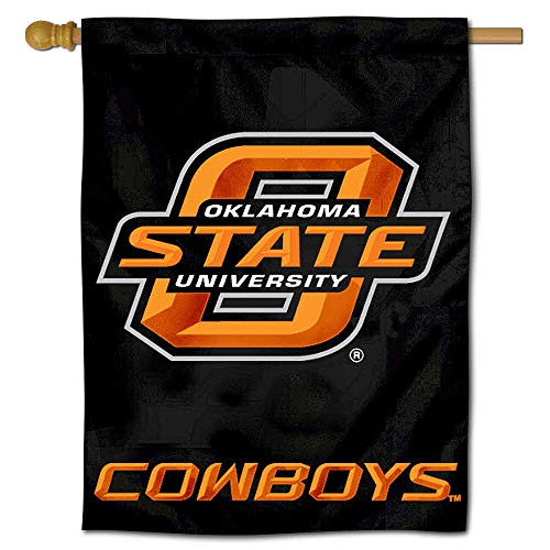 College Flags and Banners Co. Oklahoma State University Cowboys House Flag