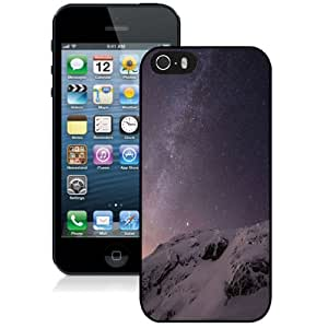 Fashion Custom Designed Cover Case For iPhone 5S Iphone 6 Milky Way Black Phone Case