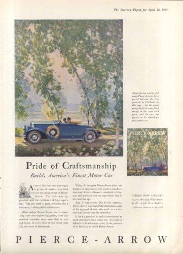 Pride of Craftsmanship Pierce-Arrow ad 1930