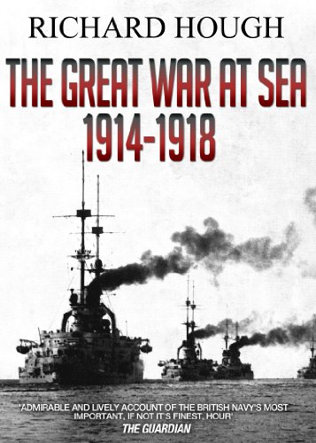 The Great War at Sea: 1914 - 1918 cover