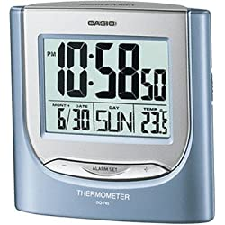 Casio #DQ745-2DF Big Digital Alarm Clock with Thermometer