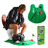Meiyiu Leisure Entertainment Mini Toilet Golf Suit Children Adult Indoor Toy Game Intellectual