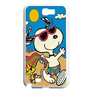 Custom High Quality WUCHAOGUI Phone case Cute & Lovely Snoopy Protective Case For Samsung Galaxy Note 2 Case - Case-4