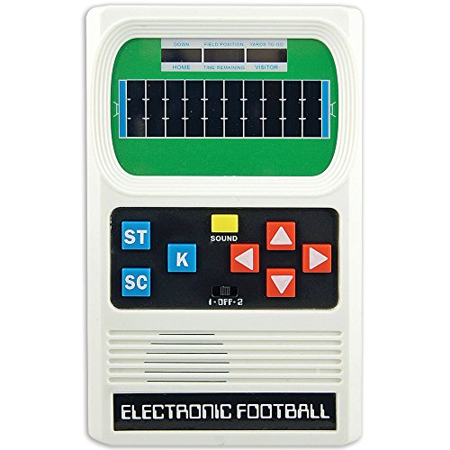 Mattel Electronic Football - Big Game Toys~Electronic Football-Retro Classic 1970 Mattel Remake Handheld-Pocket Travel Video Game