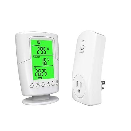 Vosarea Controlador de Temperatura Inteligente programable de termostato inalámbrico la casa de Barra de estación HPT