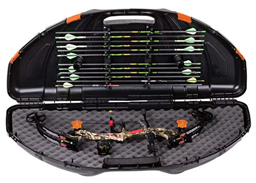 Flambeau Outdoors 6461SC Safe Shot Bow Case, Poratble Bow Storage