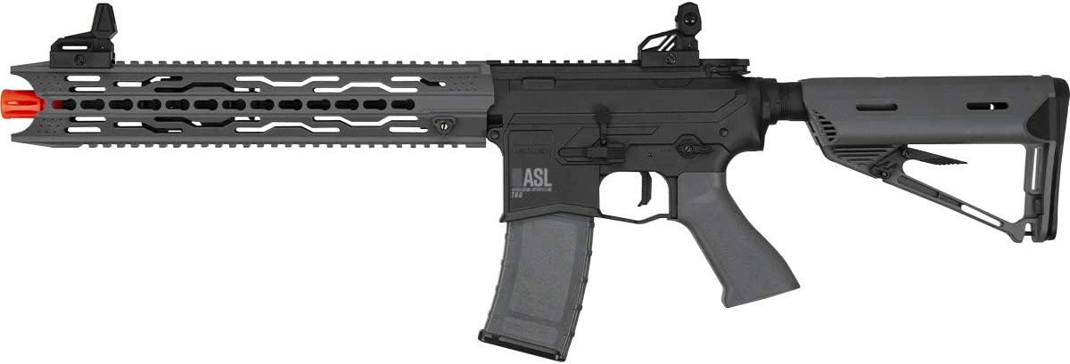 Valken ASL Series M4 Airsoft Rifle AEG 6mm Rifle – TRG – Black Grey