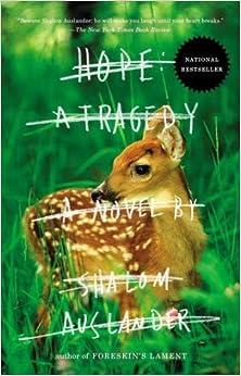 Book Hope: A Tragedy: A Novel