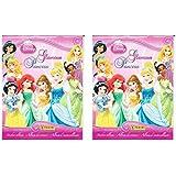 Disney Princess Glamour Princess Sticker Album - 2 Pack!