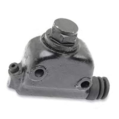 Eastern Motorcycle Parts Rear Master Cylinder Assembly - Black A-41761-78: Automotive