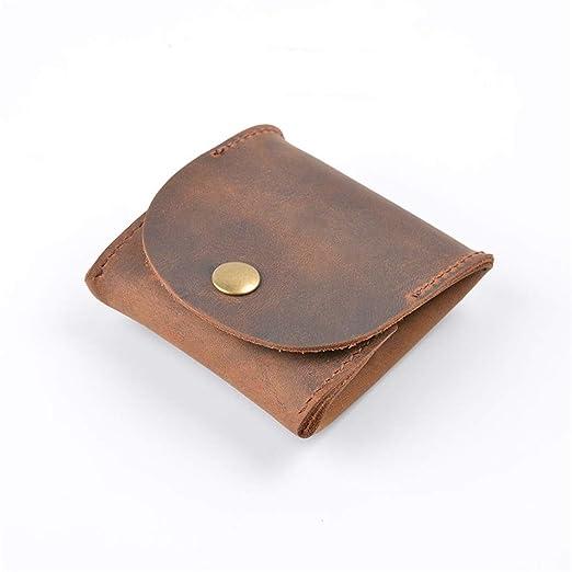 LGJJJ - Mini Monedero para Monedas, Estilo Vintage, de Piel ...