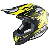 Just 1 J12 Mister X Helmet, Gender: Mens/Unisex, Helmet Type: Offroad Helmets, Helmet Category: Offroad, Distinct Name: Yellow, Primary Color: Yellow, Size: Md J1J388YLCBMXM