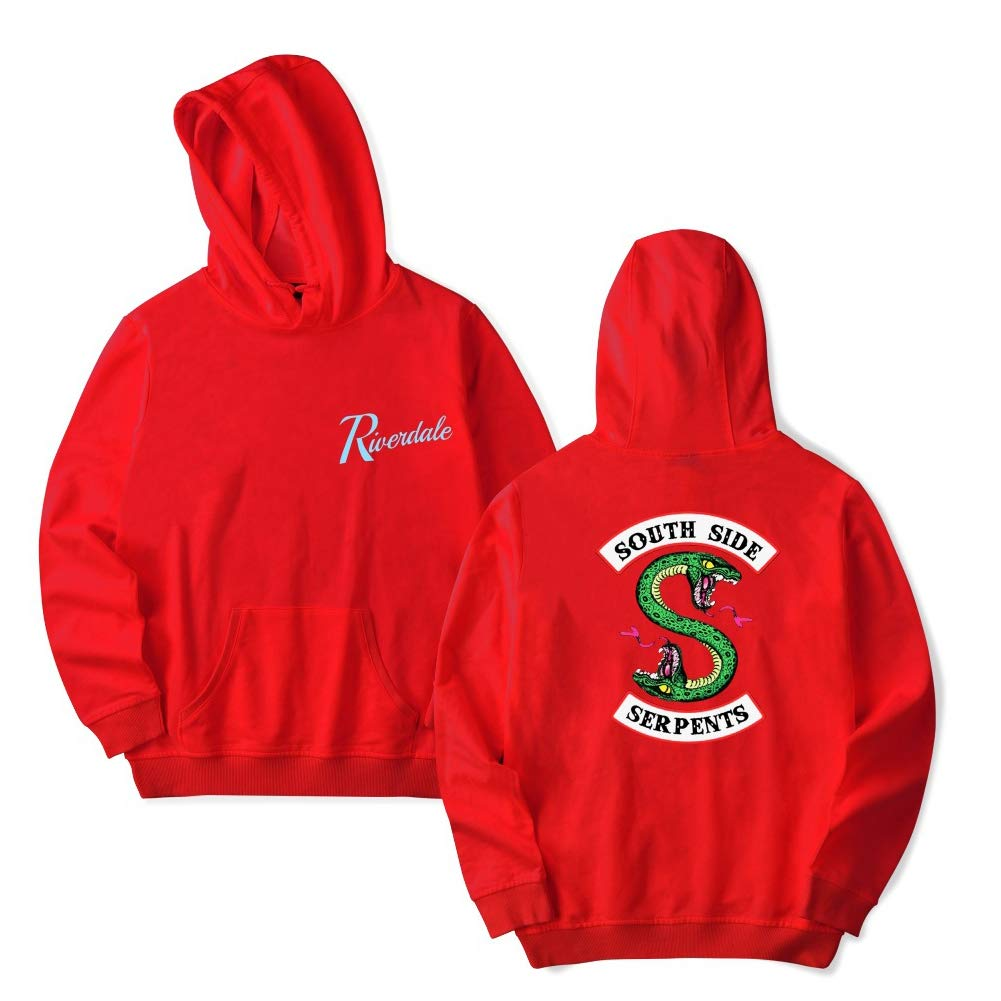 XIAOMEI Women Riverdale Southside Serpents Winter Autumn Casual Hoodies Sweatshirts