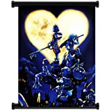 Kingdom Hearts Game Fabric Wall Scroll Poster (32x42) Inches by WUKE