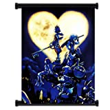 dragon quest wall scroll - Kingdom Hearts Game Fabric Wall Scroll Poster (32