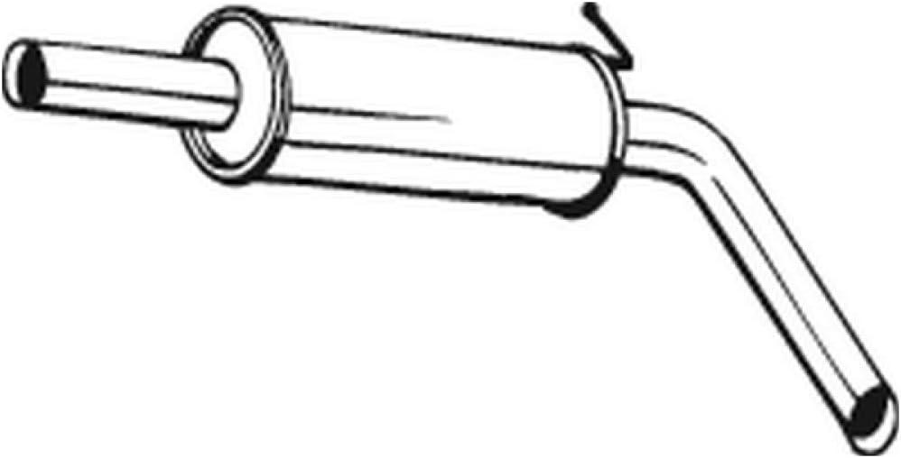Bosal 220-107 Mittelschalld/ämpfer