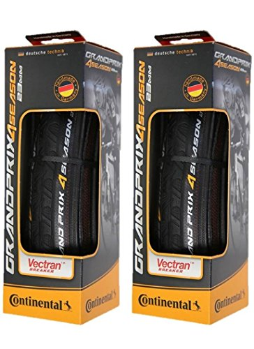 Continental Grand Prix 4 Season Cycling Tire, Set of 2 Tires