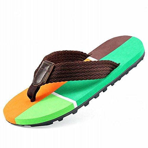 estivi quattro antiscivolo spesso di B sandali sandali infradito uomo RBB tendenza fondo Europa scarpe Sandali e da da spiaggia con da uomo in America pIqWn655wx