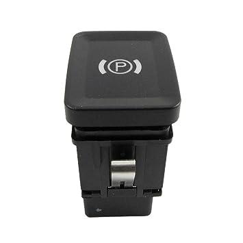 Interruptor De Botón Del Freno De Mano De Estacionamiento Electrónico: Amazon.es: Coche y moto