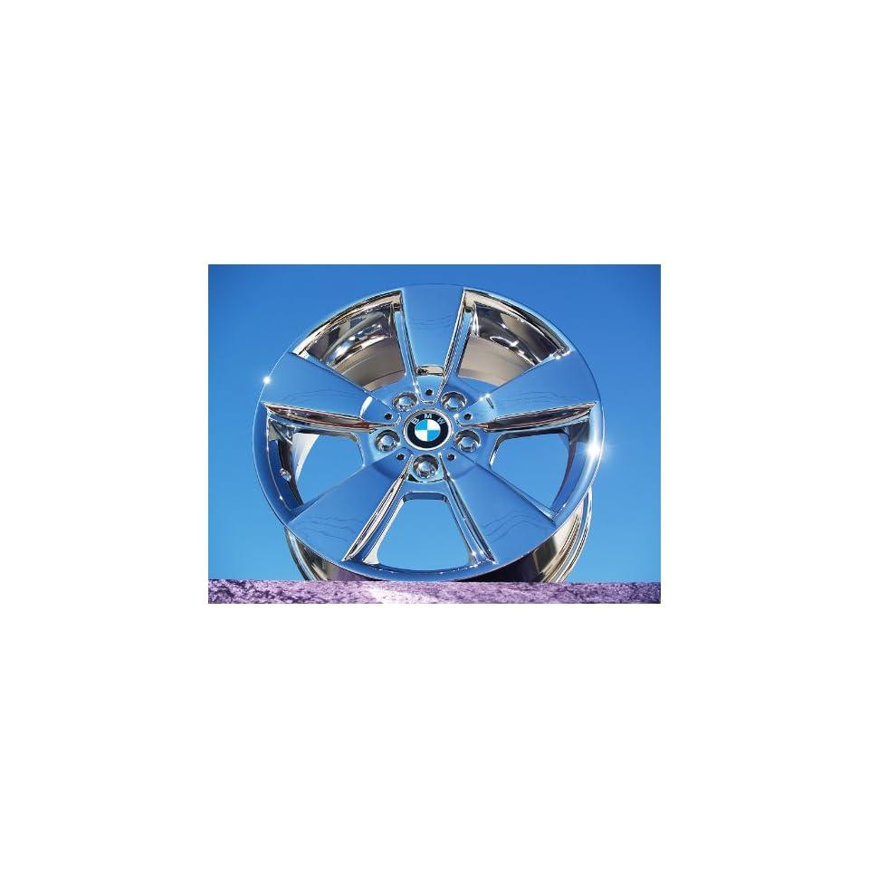 BMW X3Style 143 Set of 4 genuine factory 18inch chrome wheels