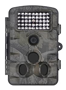 "XIKEZAN 1080P HD Trail & Game Camera,12MP Mini Night Vision Wildlife Camera with Time Lapse & 2.4"" LCD Screen"