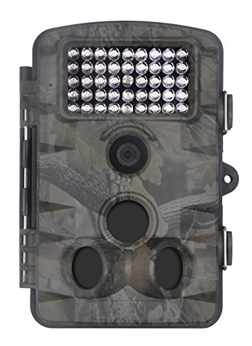XIKEZAN 1080P HD Trail & Game Camera,12MP Mini Night Vision Wildlife Camera with Time Lapse & 2.4″ LCD Screen