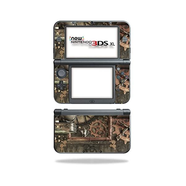 MightySkins Skin Compatible with Nintendo 3DS XL (2015) - Steam Punk Room | Protective, Durable, and Unique Vinyl Decal wrap Cover | Easy to Apply, Remove, and Change Styles | Made in The USA 3