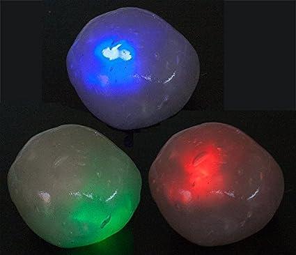 Spielzeug Großhandel & Sonderposten 1 x LED Hüpfknete Springknete Flummimasse Flashknete Magische Knete Leuchtknete