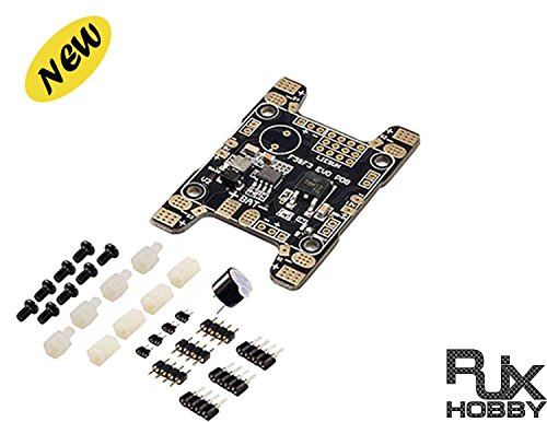 RJXHOBBY F3 F3EVO PDB Power Distribution Board with Buzzer BEC Output 5V 12V for FPV Racing Drone 180 184 190 195 210 220 250 250 Quadcopter