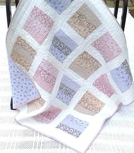 Modern Baby/Toddler Quilt by MangoWave