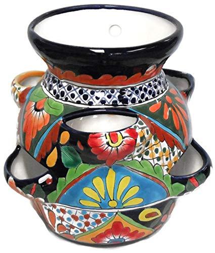 Talavera Strawberry Pot (multi)