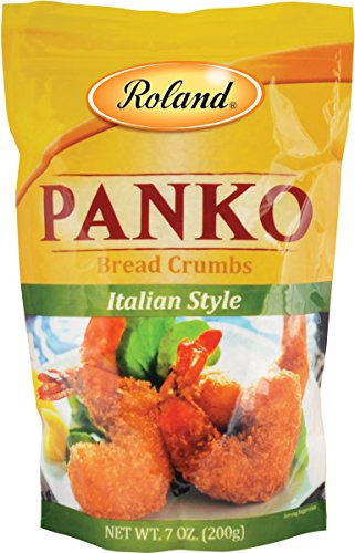 Roland Foods Bread Crumbs, Italian Style Panko, 7 Ounce (Pack of 6)