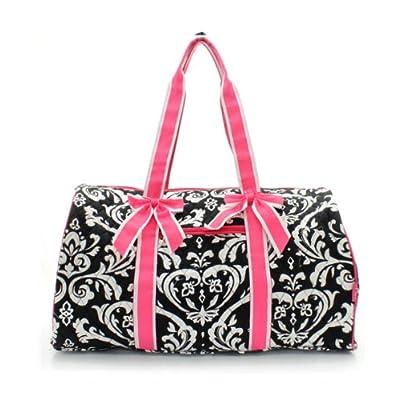 22'' Duffle Bag Damask Print Hp