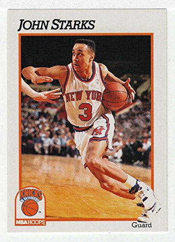 John Starks RC (Basketball Card) 1991-92 Skybox NBA Hoops # 406 ()