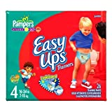 Pampers Easy Ups Diapers, Boy, Size 2T-3T, 26-Count
